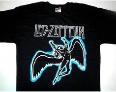 Led Zeppelin Black Swan Song Music Tshirt-502