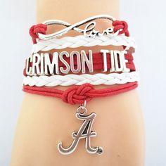 Infinity Love Alabama Crimson Tide Football BOGO