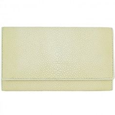 Stingray leather envelope - wallet
