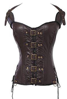 Women's Fashion Bustier Boned Buckle-up Steampunk Corset ... https://www.amazon.co.uk/dp/B01JCX37V4/ref=cm_sw_r_pi_dp_x_OmLEzbHMYVX91
