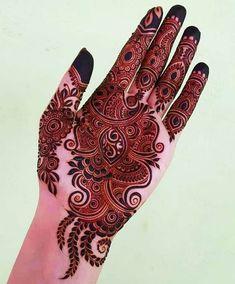 Palm Henna Designs, Khafif Mehndi Design, Back Hand Mehndi Designs, Latest Bridal Mehndi Designs, Mehndi Designs Book, Mehndi Designs 2018, Mehndi Designs For Beginners, Modern Mehndi Designs, Mehndi Designs For Girls