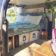 Amazing 35 Brilliant Camper Van Conversion for Perfect Outdoor Experience http://homiku.com/index.php/2018/02/26/35-brilliant-camper-van-conversion-perfect-outdoor-experience/ #ExteriorDesign