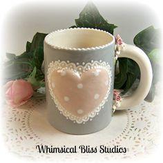 Whimsical Bliss Studios - Simple Heart Mug