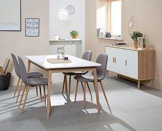 Scandinavian style GAMMELGAB ruokapöytä ja senkki, JONSTRUP tuolit