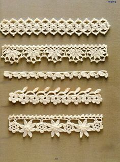 Bicos De Croche Com Graficos Simples