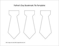 Here's a simple Father's Day craft for kids to create-homemade bookmarks using a tear art technique and newspaper- perfect for preschoolers and kindergarteners. Tie Template, Bookmark Template, Shape Templates, Templates Printable Free, Cool Bookmarks, Homemade Bookmarks, Tears Art, Kids Ties, Church Crafts