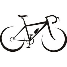 New Mountain Bike Tattoo Ideas Cycling Ideas Cycling Tattoo, Bicycle Tattoo, Bike Tattoos, Cycling Art, Cycling Bikes, Bicycle Sketch, Bicycle Drawing, Bicycle Art, Machine Silhouette Portrait