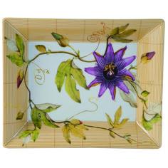 Bernardaud - Vide poches Jardin Indien - #bernardaud #porcelaine #porcelain #tableware #tablesetting #tablescape