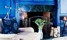 Superb Royal Blue Interiors - A Strong, yet Stylish Color