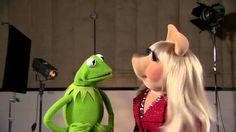 The Muppets' Kermit the Frog & Miss Piggy sending congrats.