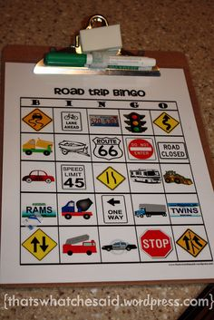 Printables ~ Kids don't have to read to play this so I LOVE it!