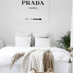 33 All-White Room Ideas for Decor Minimalists StyleCaster Diy Home Decor Bedroom, Bedroom Inspo, Bedroom Wall, All White Room, White Rooms, Company Dinner, Interior Decorating, Apartments Decorating, Decorating Bedrooms