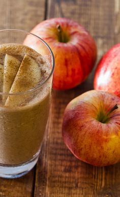 Apple Oatmeal Smoothie