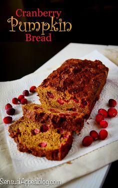 Cranberry Pumpkin Bread: Halloween recipe for Mariano's Chicago