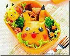 comida artistica - pikachú
