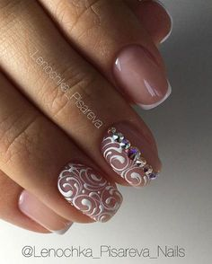 Маникюр. Дизайн ногтей. Art Simple Nail Mais