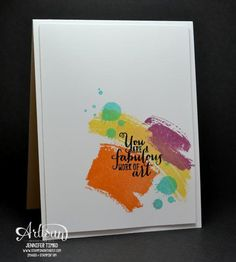 Gorgeous Work of Art by jentimko - Cards and Paper Crafts at Splitcoaststampers