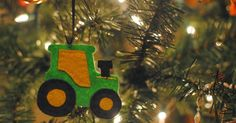 Some of you may remember a couple Christmas' ago when I made this tractor ornament for a little friend of mine. Well, when I decided ...
