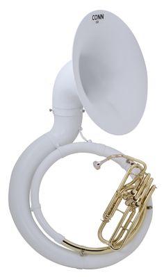 "CG Conn Step-Up Model 36KW Fiberglass Sousaphone - Sousaphones ..."""