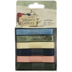 Natures Gallery Ribbon - Pack Of 6 | Arts & Crafts - New In! at The Works
