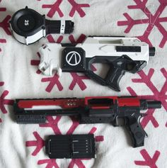 nerf rayven with drum clip - Google Search