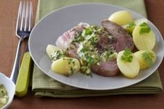 Recette de Tête de veau, sauce gribiche facile et rapide