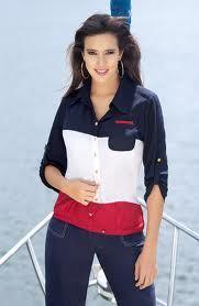 blusas camiseras en chalis - Buscar con Google