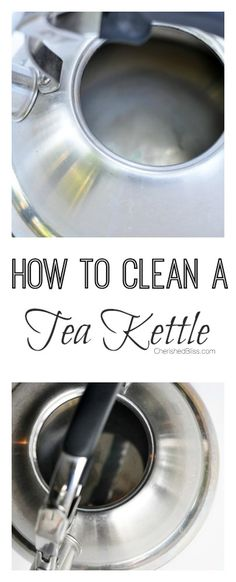 How to clean a tea kettle with an easy, safe, and all natural solution!