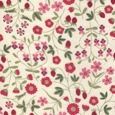 Mirabelle is a Liberty archive design from 1962. It is a typical Liberty floral with a fresh 1960s look to it. It was introduced on Classic Tana for autumn winter 2006.Size:Fat Quarter: 45cm x 67…