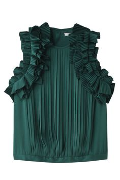 Too | Pleated and Ruffles