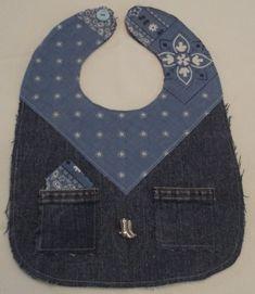 Hey, I found this really awesome Etsy listing at https://www.etsy.com/listing/201607847/bib-blue-jean-bandana-baby-bib-this-bib