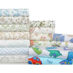 Dress your bed in comfortable linens with this four-piece flannel sheet set. You will be in supreme comfort as these sheets softly embrace you.