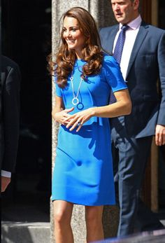 Hoop Dreams / Catherine, Duchess of Cambridge in Stella McCartney (Dress) and Cartier (Necklace), London (2012)