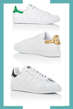 adidas Women's Stan Smith Leather Sneakers by adidas  #Promoted #Sponsored #Affiliate #PaidAd