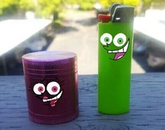 Fairly odd parents grinder and lighter