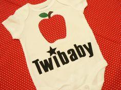 Twibaby Bodysuit by almdesigns on Etsy, $18.00