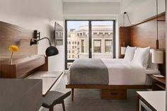 """纽约新开的这家酒店,主打""""四星级的小房间"""""""