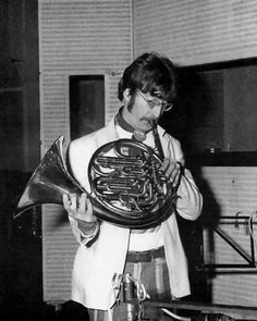 John Lennon and a French Horn