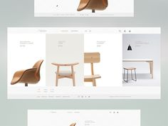 Furniture Shop E-Commerce Website Design