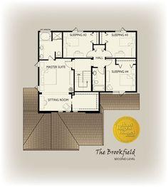 Upper Level - possibly convert sleeping #2 into a loft area, keep the linen closet!