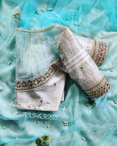 Blouse Back Neck Designs, Hand Work Blouse Design, Stylish Blouse Design, Fancy Blouse Designs, Bridal Blouse Designs, Choli Blouse Design, Saree Blouse Neck Designs, Saree Blouse Patterns, Designs For Dresses