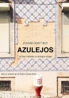 please don't buy azulejos