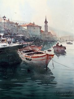 dusan-djukaric-light-of-persat-watercolor-54x74-cm