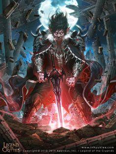 Legend of the Cryptids, InHyuk Lee on ArtStation at https://www.artstation.com/artwork/oOkGO