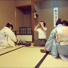 11'Sep. 跟日本氣質貴婦一起品茶 #kyoto (Taken with Instagram)