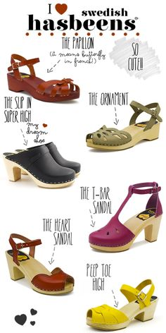 My Dream Shoes: 6 Amazing Pairs From Swedish Hasbeens | lovelyish