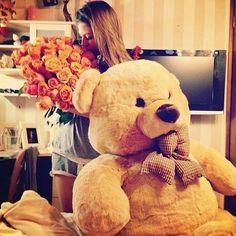 I want a teddy bear boyfriend