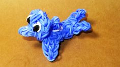 Rainbow Loom Charms: DOLPHIN: How to Tutorial / Design (DIY Mommy)