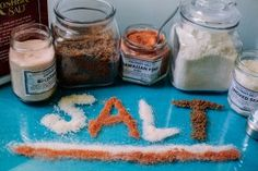 Dysautonomia International blog: Please pass the salt. How to get more salt into your diet.