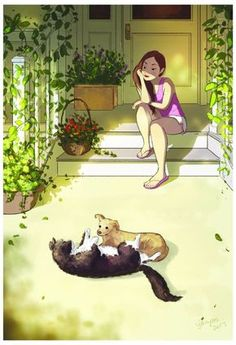 These Two - As ilustrações lindas da Yaoyao Ma Van